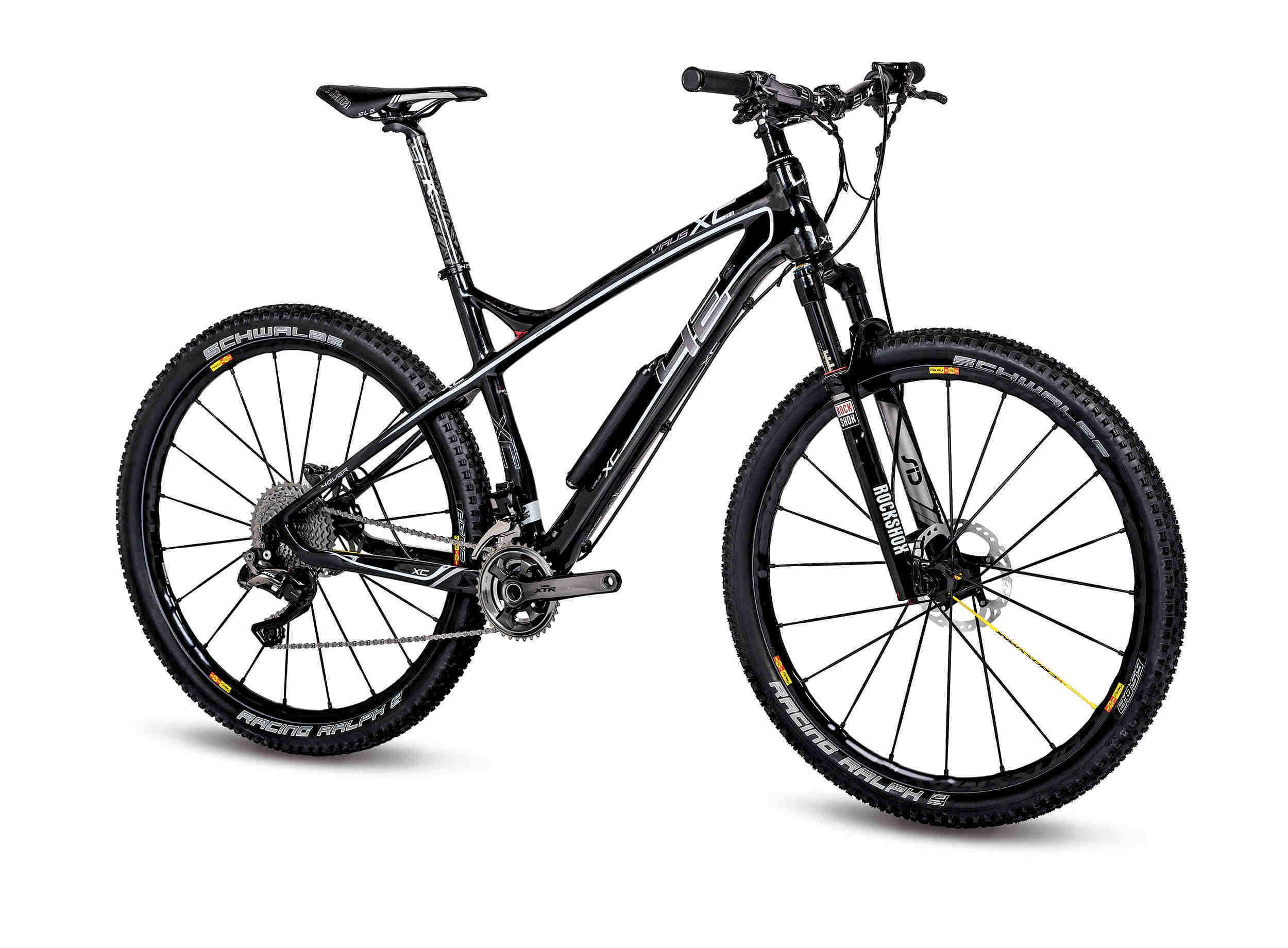 Bike Fahrrad Velo forever 4EVER Virus XC XTR Di2
